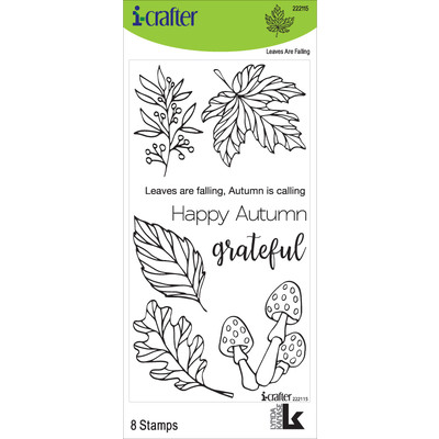 Clear Stamp, Leaves Are Falling