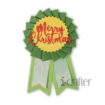 Die, Ribbon Rosette Christmas Add-on