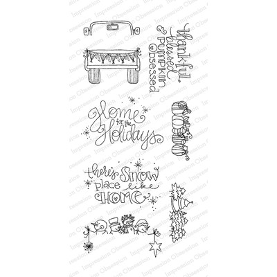 Clear Stamp, Holiday Truck