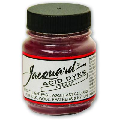 1/2 oz. Acid Dye, 609 Scarlet