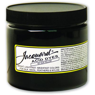 8 oz. Acid Dye, 601 Sun Yellow