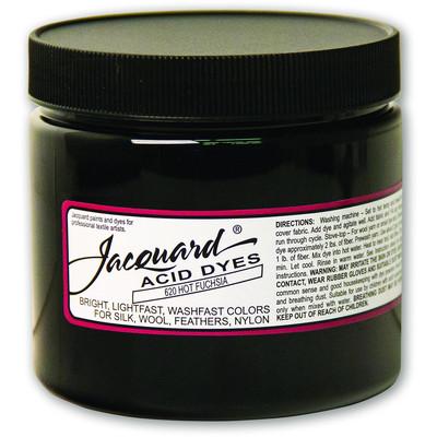 8 oz. Acid Dye, 620 Hot Fuchsia