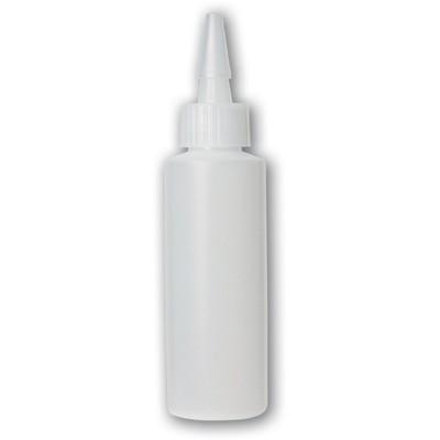 Bottle, 4 oz Translucent Squeezable Yorker Bottle