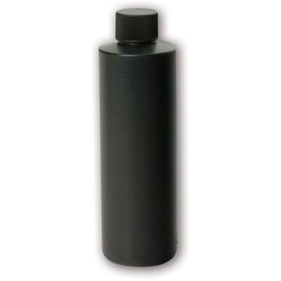Bottle, 8 oz Opaque Black