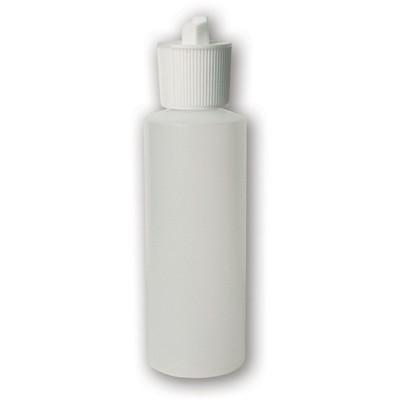 Bottle, 4 oz Translucent Squeezable (Spout Cap)