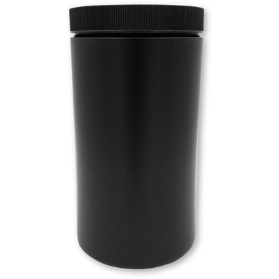 Jar, 1 Quart Opaque Black