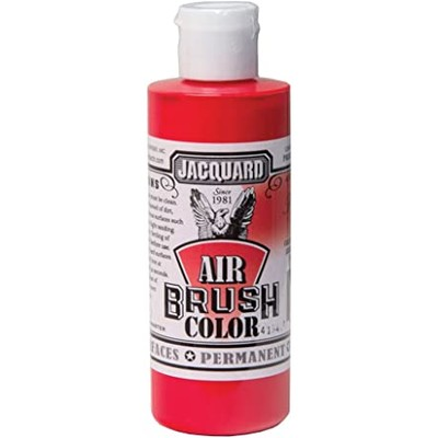 Airbrush Color, 4oz. - Transparent Red