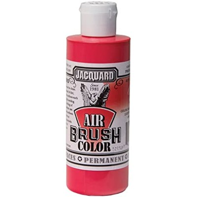 Airbrush Color, 4oz. - Opaque Red