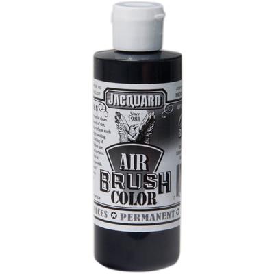 Airbrush Color, 4oz. - Opaque Black