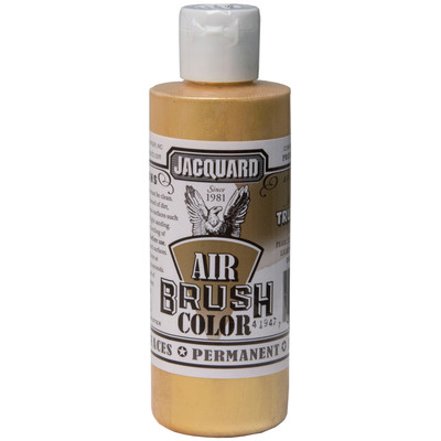 Airbrush Color, 4oz. - Metallic True Gold