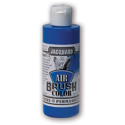 Airbrush Color, 4oz. - Fluorescent Blue