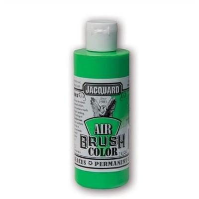 Airbrush Color, 4oz. - Fluorescent Green