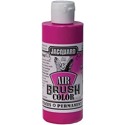 Airbrush Color, 4oz. - Fluorescent Raspberry