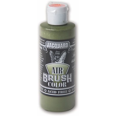 Airbrush Color, 4oz. - Sneaker Series Military Green