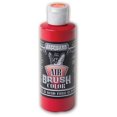 Airbrush Color, 4oz. - Sneaker Series Fire Red