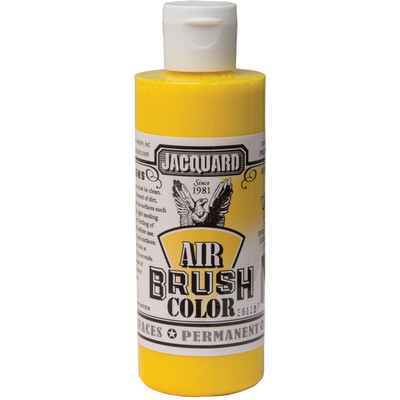 Airbrush Color, 4oz. - Bright Yellow