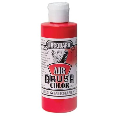 Airbrush Color, 4oz. - Bright Red