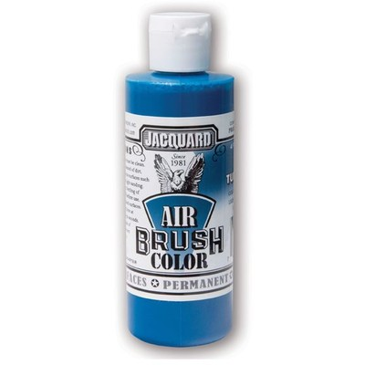 Airbrush Color, 4oz. - Bright Turquoise