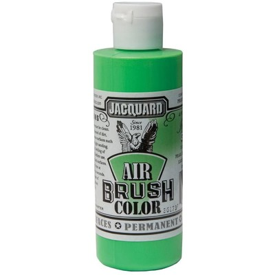 Airbrush Color, 4oz. - Iridescent Green