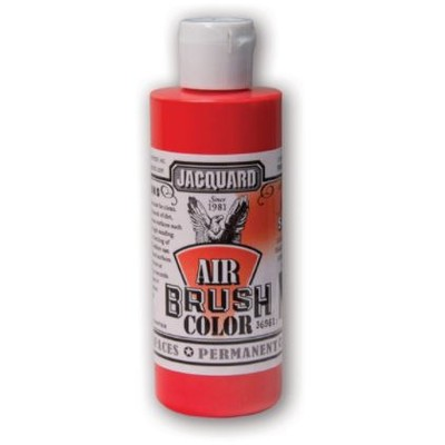 Airbrush Color, 4oz. - Iridescent Scarlet