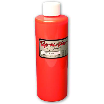 Dye-Na-Flow Fabric Paint, #805 Scarlet (8oz)