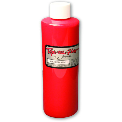 Dye-Na-Flow Fabric Paint, #806 Brilliant Red (8oz)