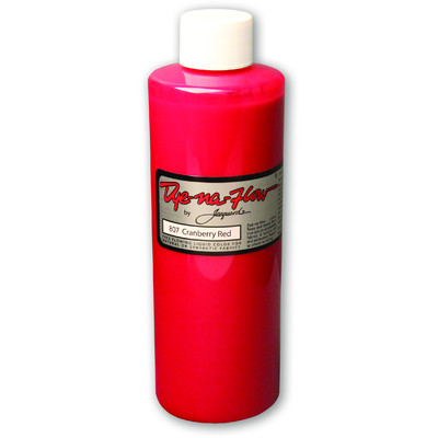 Dye-Na-Flow Fabric Paint, #807 Cranberry Red (8oz)