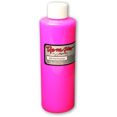 Dye-Na-Flow Fabric Paint, #808 Hot Fuchsia (8oz)