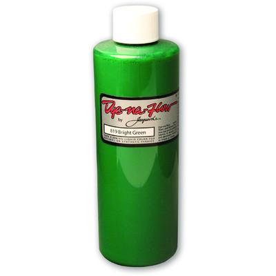 Dye-Na-Flow Fabric Paint, #819 Bright Green (8oz)