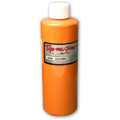 Dye-Na-Flow Fabric Paint, #824 Ochre (8oz)
