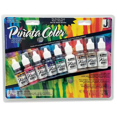 Pinata Alcohol Ink Set, Overtones Exciter Pack