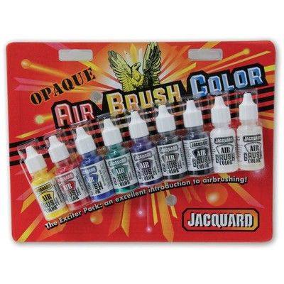 Airbrush Color Exciter Pack, Opaque