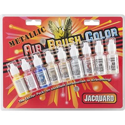 Airbrush Color Exciter Pack, Metallic