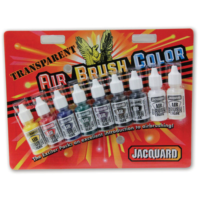 Airbrush Color Exciter Pack, Transparent