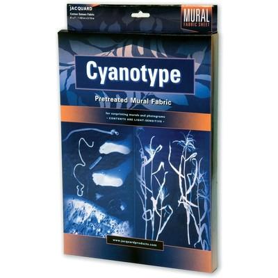 Cyanotype Mural Fabric, 5' x 7'