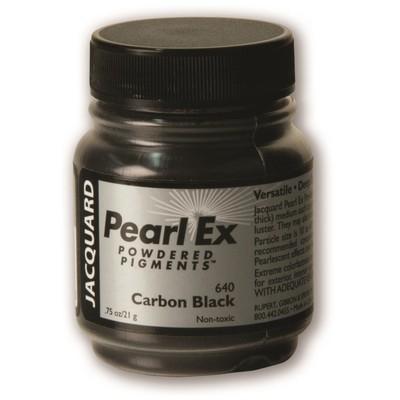Pearl Ex Powdered Pigments 0.75oz #640 Carbon Black