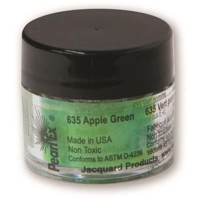Pearl Ex Powdered Pigments 3g #635 Apple Green