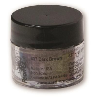 Pearl Ex Powdered Pigments 3g #637 Dark Brown
