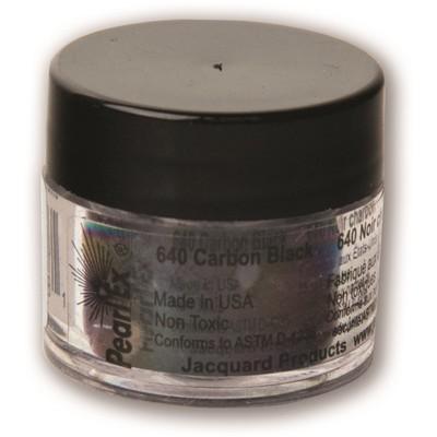Pearl Ex Powdered Pigments 3g #640 Carbon Black