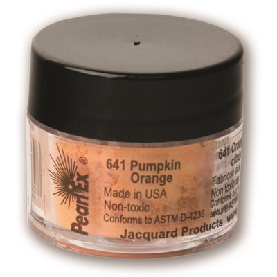 Pearl Ex Powdered Pigments 3g #641 Pumpkin Orange
