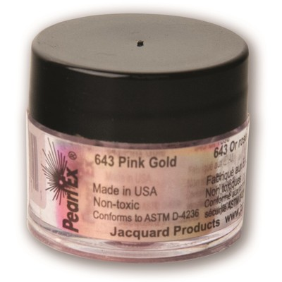 Pearl Ex Powdered Pigments 3g #643 Pink Gold