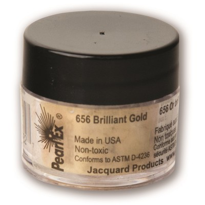 Pearl Ex Powdered Pigments 3g #656 Brilliant Gold