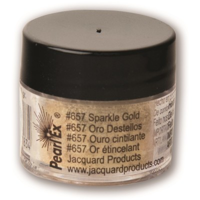 Pearl Ex Powdered Pigments 3g #657 Sparkle Gold