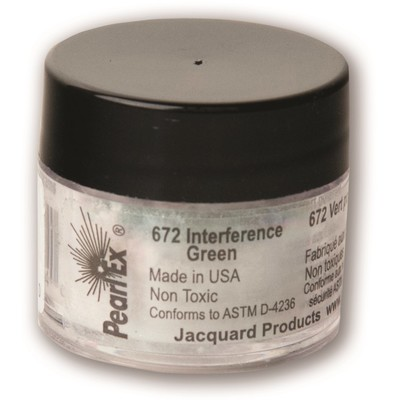 Pearl Ex Powdered Pigments 3g #672 Interference Green