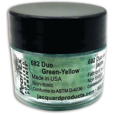 Pearl Ex Powdered Pigments 3g #682 Duo Green/Yellow
