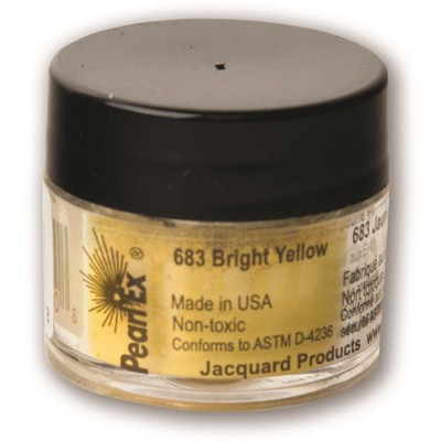 Pearl Ex Powdered Pigments 3g #683 Bright Yellow