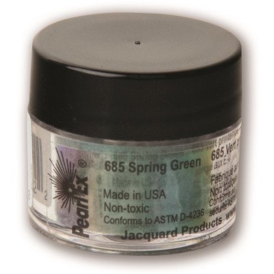 Pearl Ex Powdered Pigments 3g #685 Spring Green