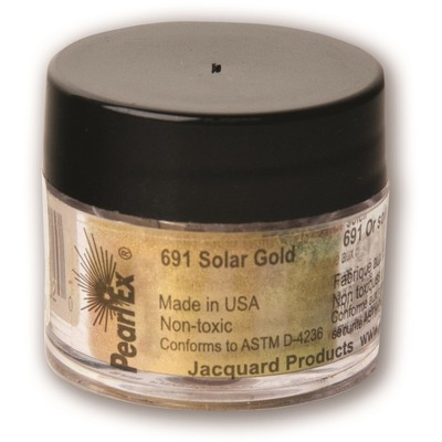 Pearl Ex Powdered Pigments 3g #691 Solar Gold