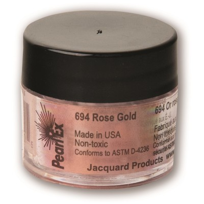Pearl Ex Powdered Pigments 3g #694 Rose Gold