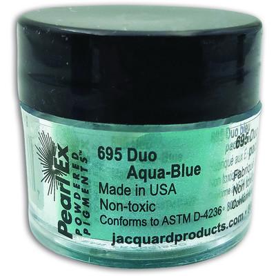 Pearl Ex Powdered Pigments 3g #695 Duo Aqua/Blue